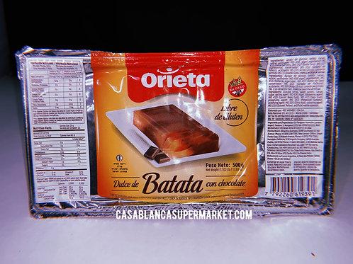 Orieta - Dulce de Batata con Chocolate