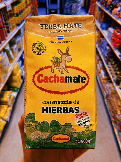 Cachamate - Yerba Mate - Con Mezcla de Hierbas