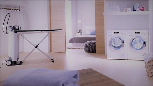 Verkauf Reparatur Waschmaschinen, Trockner und Bügelgeräte