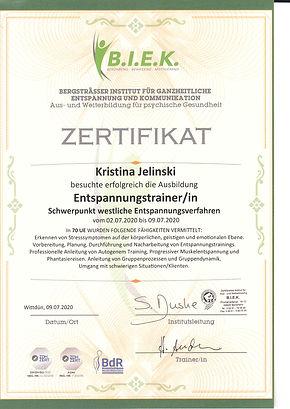 Zertifikat Entspannungstrainerin 0720.jp
