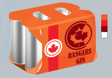 RANGERS GIN PACKAGE DESIGN