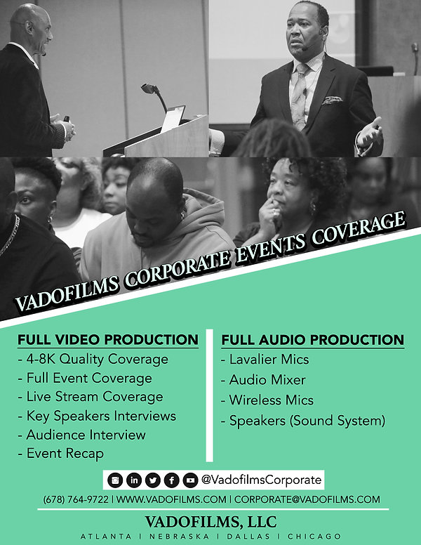 VADOFILMS CORPORATE EVENTS COVERAGE [PAG