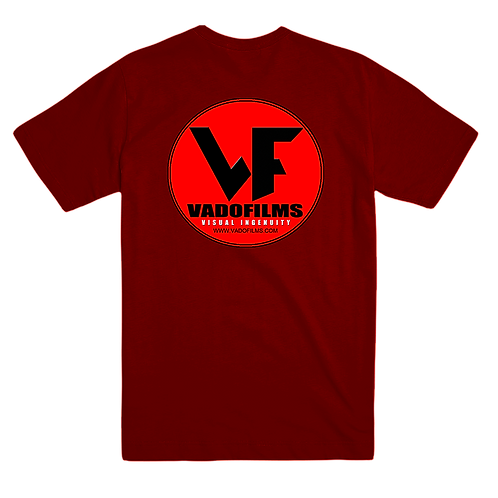 Vadofilms - Red T-shirt