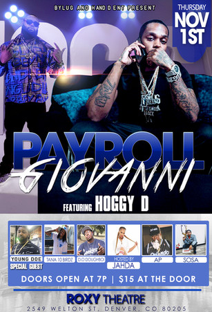 PAYROLL GIOVANNI IN DENVER - FLYER