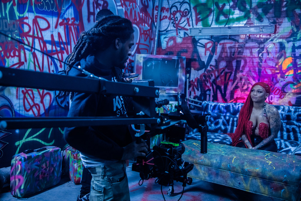 """Cuban Doll """"Cupac"""" Video Shoot Directed by Vadofilms"""