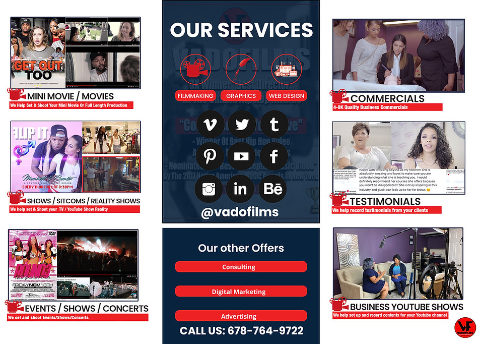 VADOFILMS MEDIA For Businesses