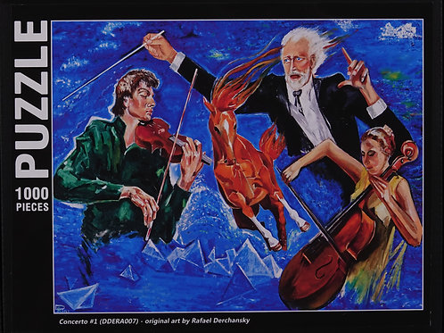 "Jigsaw Puzzle ""Concerto #1"""