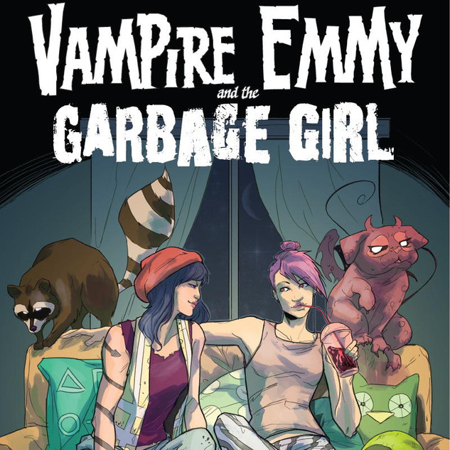 VAMPIRE EMMY AND THE GARBAGE GIRL
