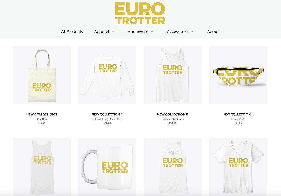 Euro Trotter Merchandise