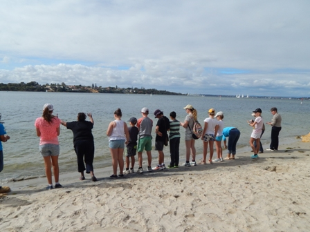 Ritual Greeting the Swan River