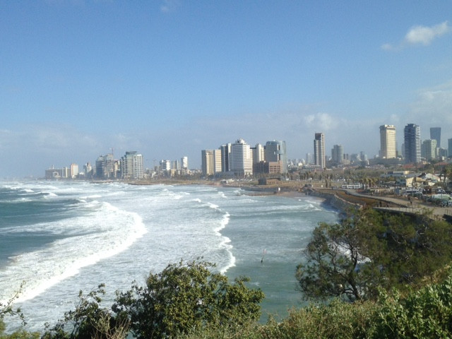 Posting from Tel Aviv. Picture taken from Jaffa.