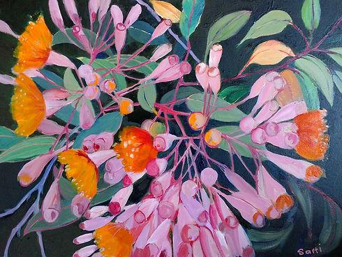 Eucalypt oil on canvas 37x50 $400