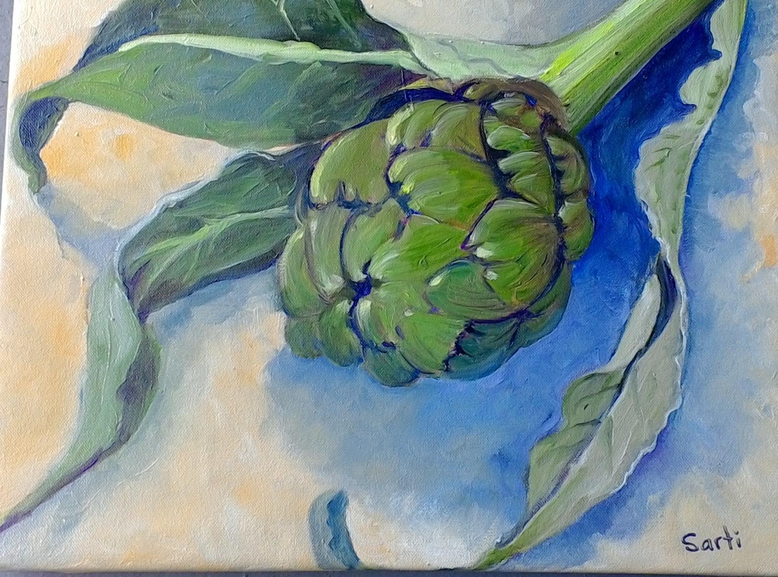 Artichoke oil on canvas 30x40cm $300.jpg