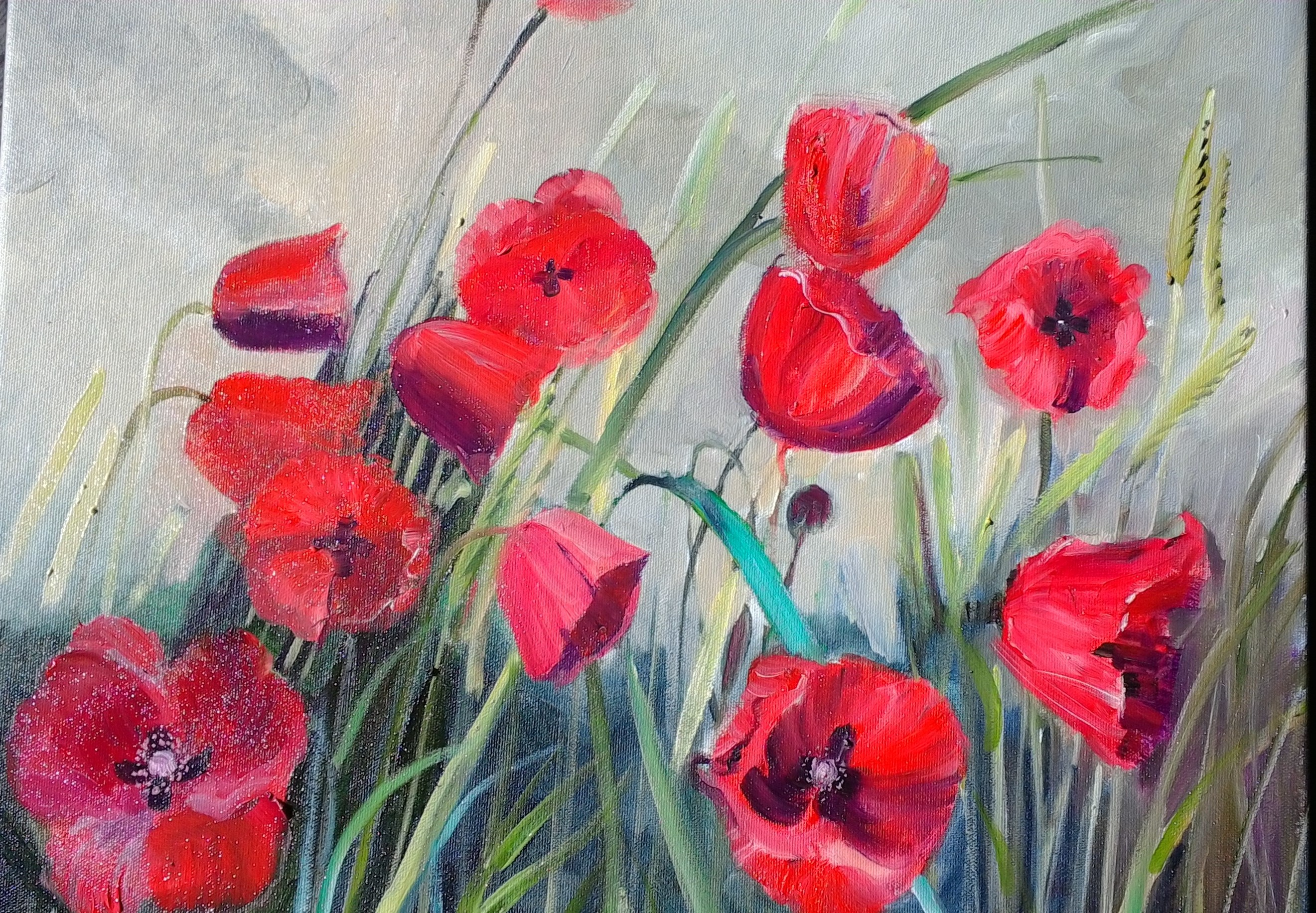 Rememberance (oil on canvas ) $500