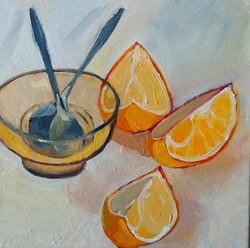.Oranges oiloncanvas 24x24cm