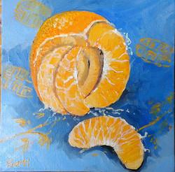 Manderin oil on canvas 20x20cm $200.jpg