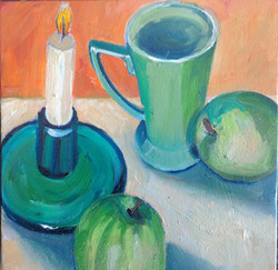 Mugshots oil on canvas 25x25 $300