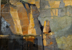 Pulpit Rock Blue Mountains 40x30cm oilon
