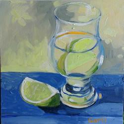 Lime oil on canvas 20x20cm $200.jpg