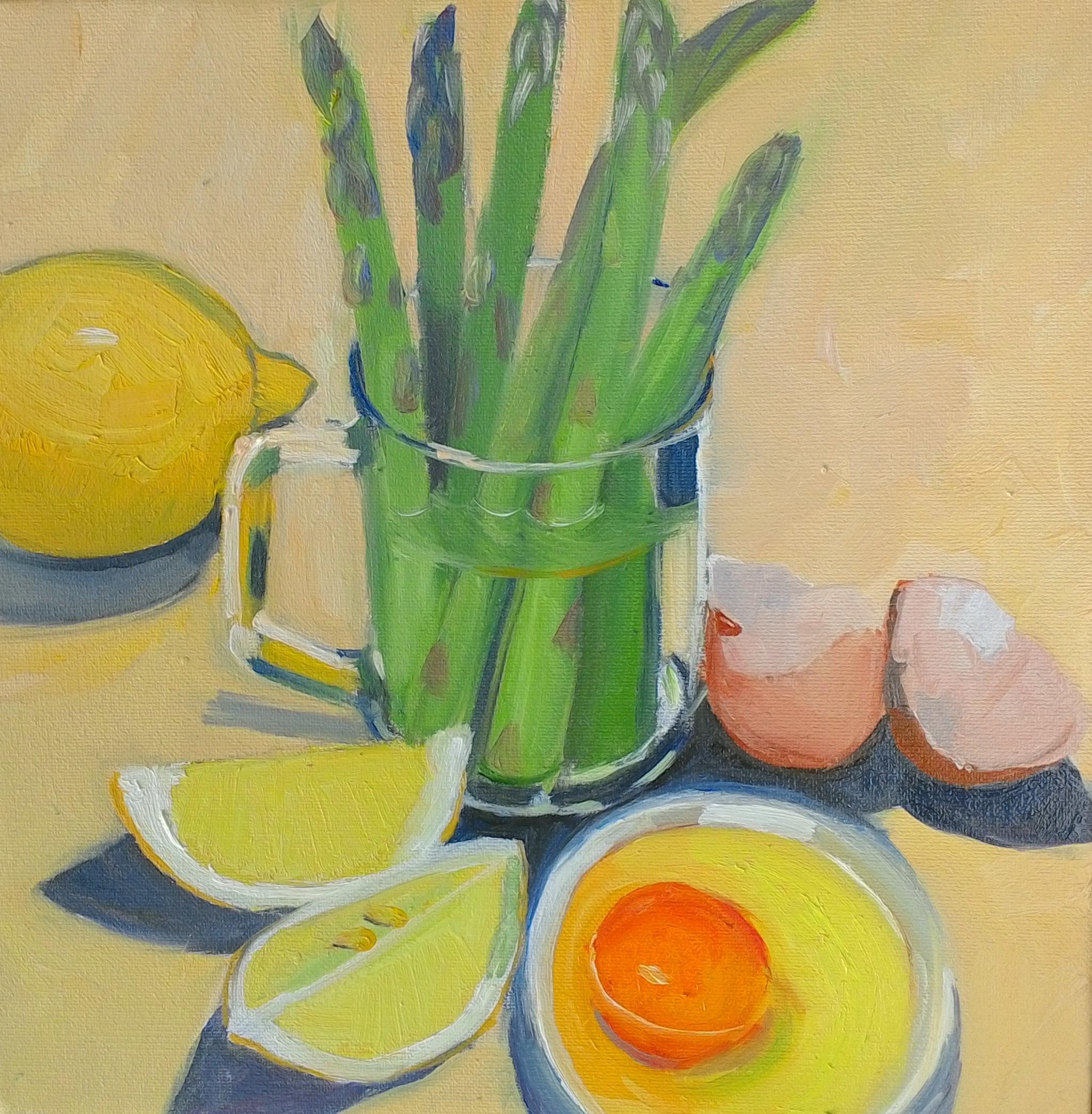 Asparagus oil on canvas 25x25cm $300.jpg