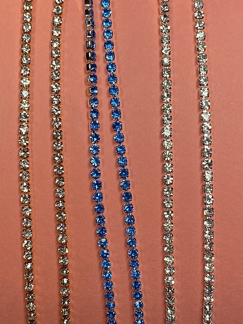 Blue Anklet Set