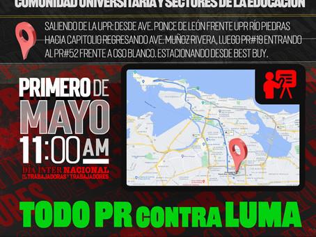 Sectores de la educación en Puerto Rico convocan caravana el 1 de mayo