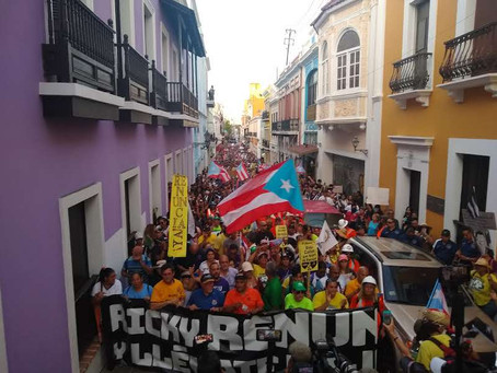 Sindicatos exigen la renuncia de Rosselló