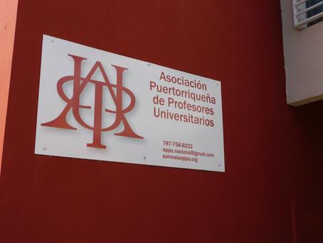 APPU denuncia ilegalidad en contrato de Presidente de la UPR