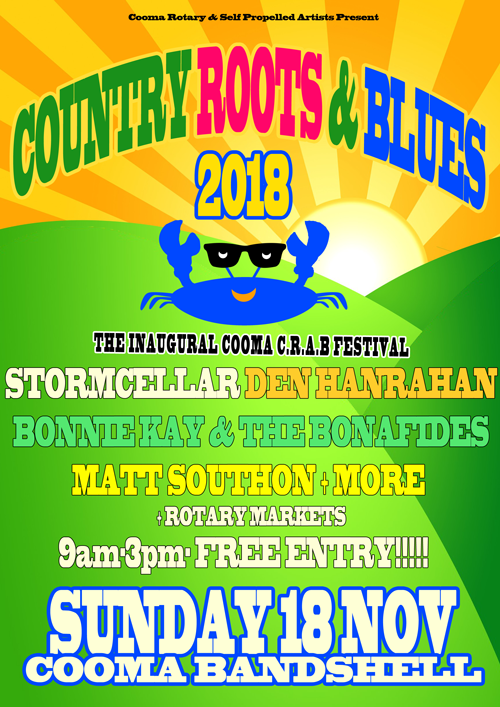Cooma CRAB Poster 2018