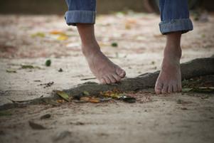 Los pies del llanero