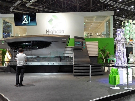SensyTIV delivered the Highcon SHAPE 3D Printing Machine presented at Drupa 2016