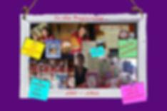 chalkboard purple background the beginni