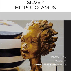 Silver Hippopotamus