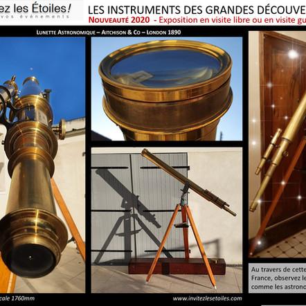 INSTRUMENTS DES GRANDES DECOUVERTES 1/3