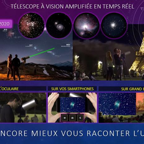 POUR ENCORE MIEUX VOUS RACONTER L'UNIVERS