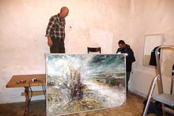 Ophængning af maleri