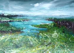 Færøerne 70x50 cm