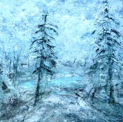 Vinter. Maleri