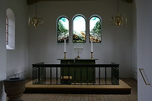 Kirkekunst, glasmaleri, Ilsdskov kirke