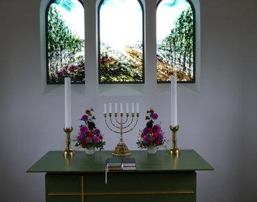 Glasmaleri Ilskov kirke