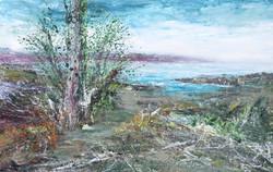 Nordisk landskab 70x110 cm