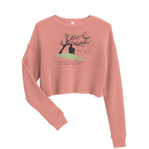 Apple Tree Hill crop sweatshirt