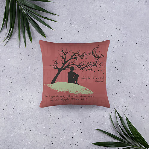 Apple tree hill pillow