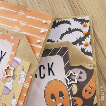 Halloween Loaded Pocket Bags