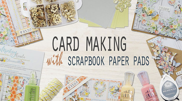 Cover Image - Card Making with 6x6 Paper