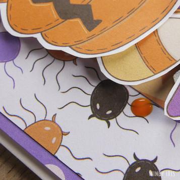 Halloween Card Detail