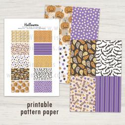 Halloween Paper Collection - Windy Iris
