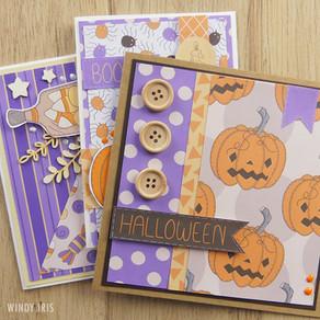 Halloween Greeting Cards Tutorial