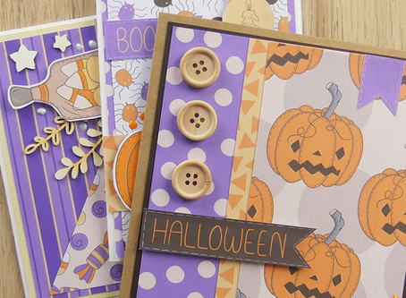 Halloween Greeting Cards Tutorial