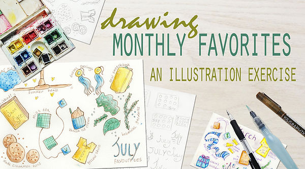 Cover Image - Drawing Monthly Favourites